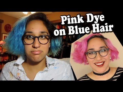 What Happens When You Put Pink Dye on Blue Hair? [CC]