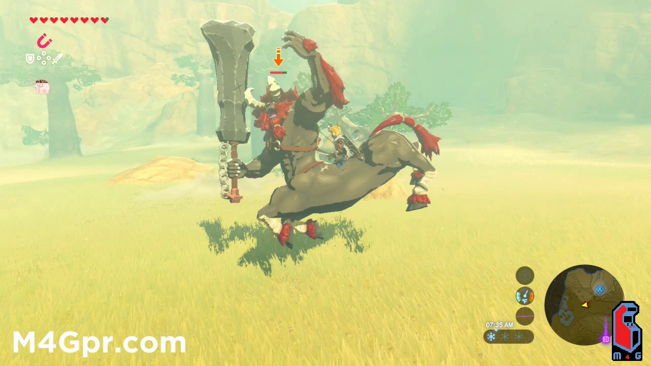 how to kill a lynel breath of the wild