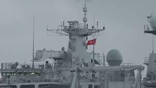 Tàu hải quân khổng lồ gần 19.000 tấn Hoàng Gia Anh thăm TP HCM   HMS Albion in vietnam