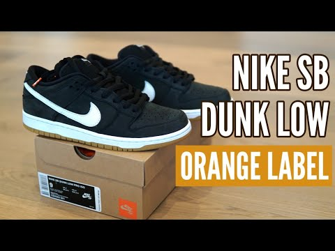 new styles dad00 a6740 Nike SB Dunk Low Orange Label - Quality Comparison with Gino 2   Review    On Feet