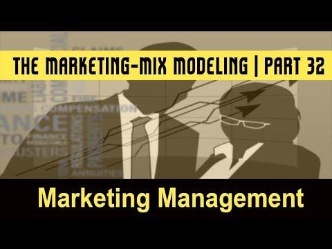 Marketing Management System   The Marketing-Mix Modeling   Part 32