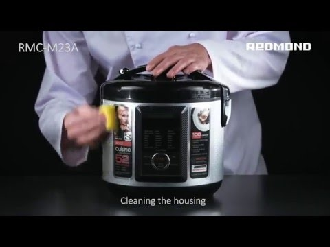 How to clean Multi Cooker 23A?