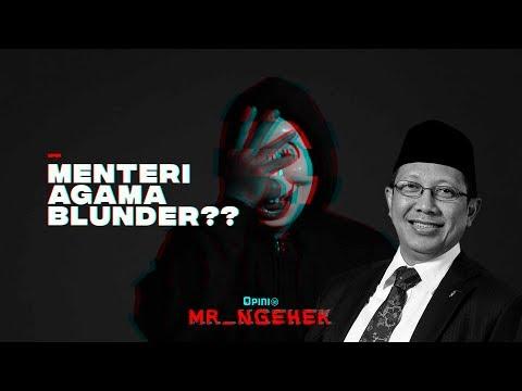 Blunder Menag Soal Pendakwah | MR. NGEHEK