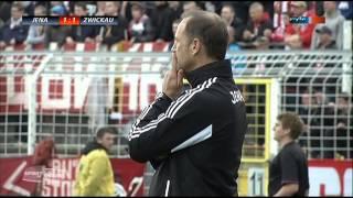 10.Spieltag RL Saison 13/14  FC Carl Zeiss Jena - FSV Zwickau
