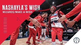 Nashayla's Wish - Wizards/Make-A-Wish Mid-Atlantic thumbnail