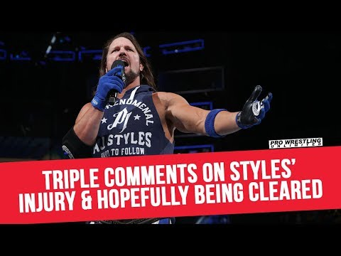 Triple H Comments On AJ Styles' Injury & Hopefully Being Cleared
