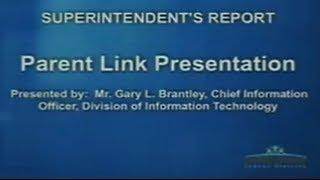 01/06/2014 Parent Link Presentation
