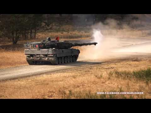 Military Videos & Combat Footage - Germanys Most Advanced The Leopard 2 Main Battle Tank In Action