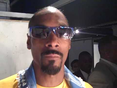 BIGG SNOOP DOGG & DAZ BEFORE SHOW AT THE FORUM IN BEIRUT, LEBANON ON 8/20/2009
