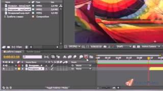 Эффекты переходов между клипами в Adobe After Effects CS5 (13/20)