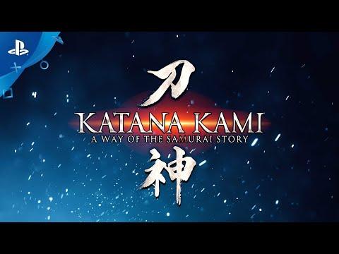 Katana Kami: A Way of the Samurai Story - Gameplay Trailer | PS4
