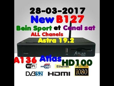 MISE A JOUR ATLAS HD 200SE NOVEMBRE 2017 GRATUIT