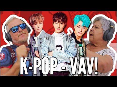 IDOSOS REAGEM A K-POP – VAV
