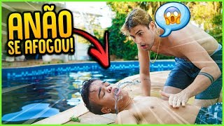 O ANÃO SE AFOGOU NESSE VÍDEO!!  [ REZENDE EVIL ] thumbnail