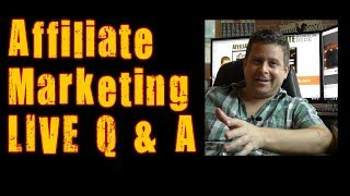 Affiliate Marketing Live Questions And Answer Session