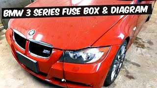 bmw e90 e92 e93 fuse box location and fuse diagram 318i 320i 323i 325i 328i  330i 335i 320d 330d 335d - youtube  youtube