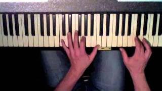 Hollywood Hills - Sunrise Avenue, easy piano cover with legal download link