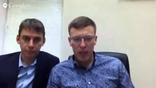 SEtinBOX - первый вебинар В.  Ушенина и А.  Перевезенцева - 8 03 2014