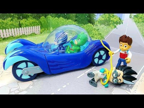 Мультики с игрушками Щенячий патруль Герои в масках - Робот! Новые игрушечные мультфильмы для детей!