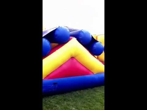 Jerry Henry doing backflip on blowup!!(: