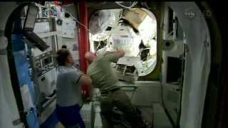 Expedition 41   US Spacewalk EVA 28   October 15   Part 1