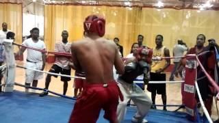 EC MARV vs. Lil Mann (boxing at the civic center)