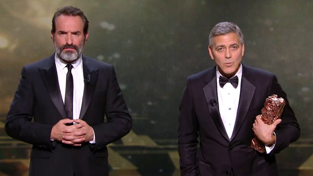 Jean dujardin traducteur officiel de george clooney for Jean dujardin 2017