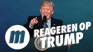 'Met Trump handen schudden lijkt me echt een marteling' | REAGEREN OP TRUMP