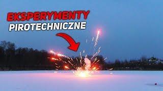 Eksperyment Pirotechniczny  -  Zawilgocona i MOKRA pirotechnika!