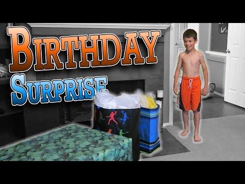BIRTHDAY SURPRISE FOR XANDER | ERIKTV365
