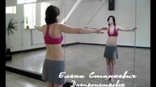 """Восточные танцы - Урок 14 - """"Горизонтальный круг грудью"""""""