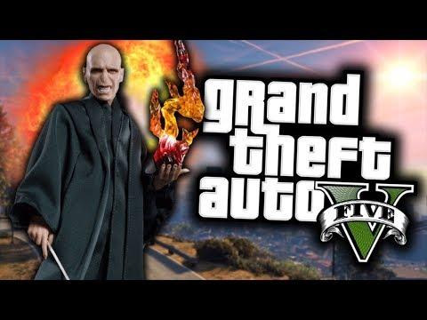 GTA 5 Mod Indonesia - Tutorial Jadi Lord Voldemort
