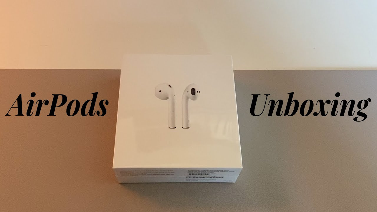 Unboxing Apple Airpods 2nd Generation Youtube