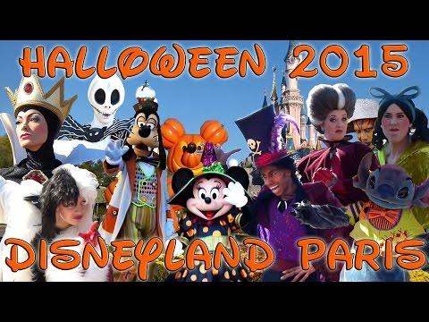2015 Halloween Disneyland Paris - Shows and Characters [1080 HD ...