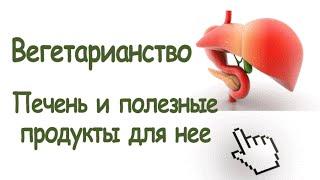 Вегетарианство. Печень и полезные продукты для нее. vegshkola.ru