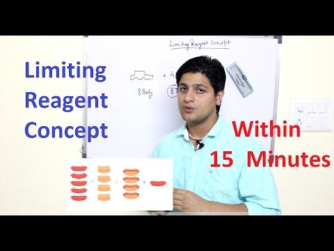 Limiting Reagent Concept I Chemistry I Hindi