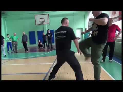 Соловьев Защита от ударов ногами на скорости и маскировка ударной ноги