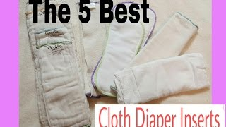 The 5 Best Cloth Diaper Inserts | My Favorites