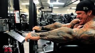 WRIST CURLS - CAN'T HAVE SKINNY ASS FOREARMS - Rich Piana