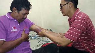 Cara mengobati sakit di tangan karena kecelakaan