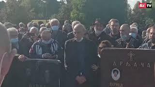 SAHRANJEN BORA DRLJAČA Sin održao potresan govor:
