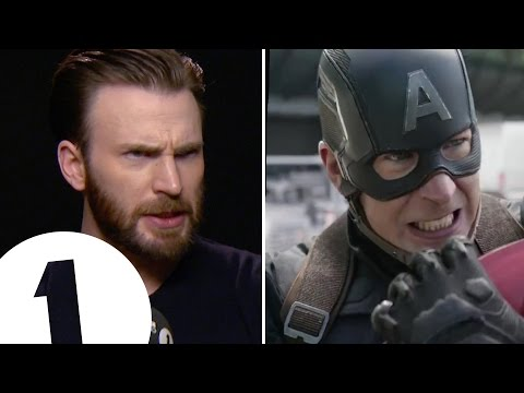 Chris Evans shows off Captain America