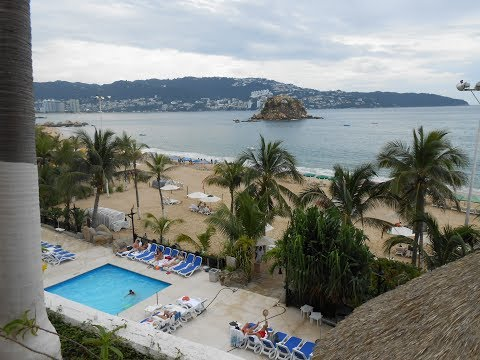 Acapulco desde el Crown Plaza Hotel