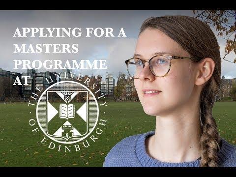 How I Got An Offer From The University Of Edinburgh