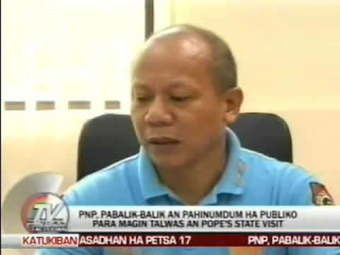 TV Patrol Tacloban - January 8, 2015