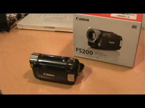 Canon FS200 Camcorder Review