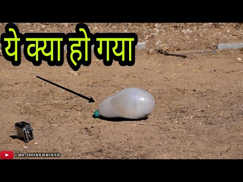 Science Experiment - Calcium Carbide Vs Bottle
