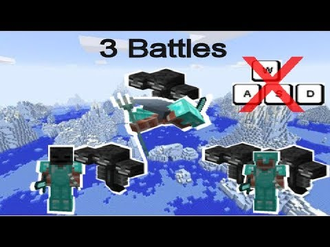 How To Beat The Wither In Minecraft Without Walking