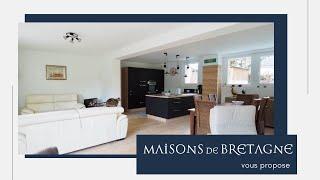 Maison à vendre de 6 chambres, avec une piscine, un étang, à Inguiniel Morbihan Bretagne Sud