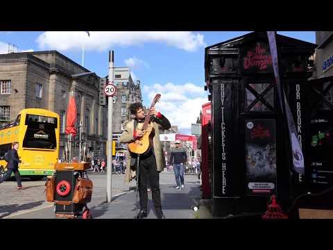 Edinburgh Fringe Festival 2017  Guitarist Tom Ward